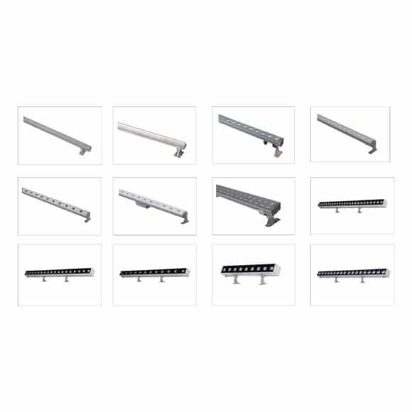 Architectural LED Linear Wall Washer & Grazers