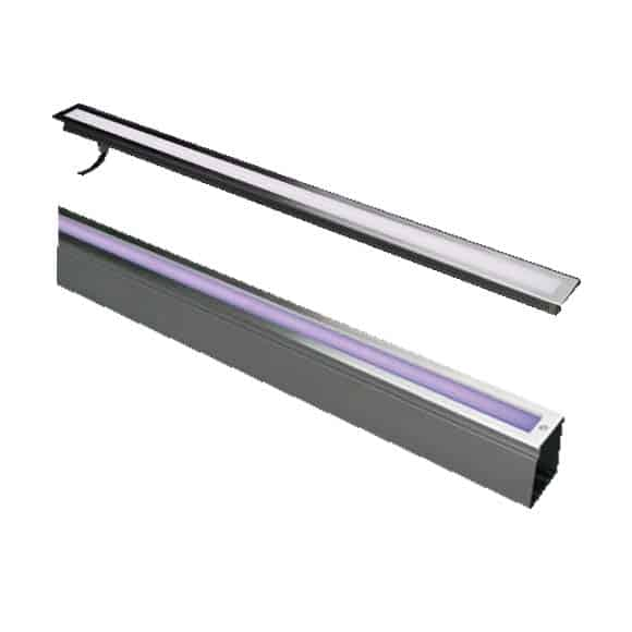 High power & quality Architectural Outdoor Facade led linear Wall Washer & Grazer