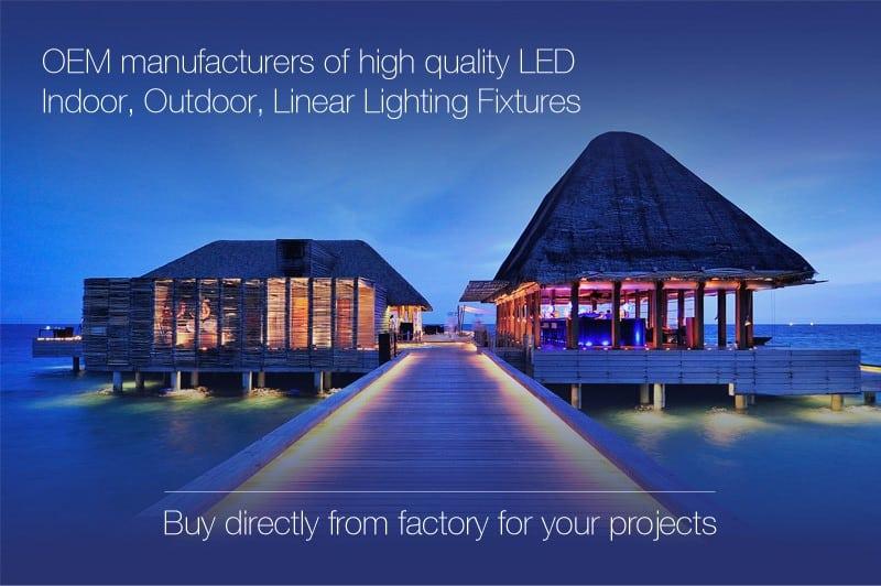 Led façade lighting design concepts manufacturer high quality
