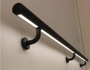 Application image for handrail lighting