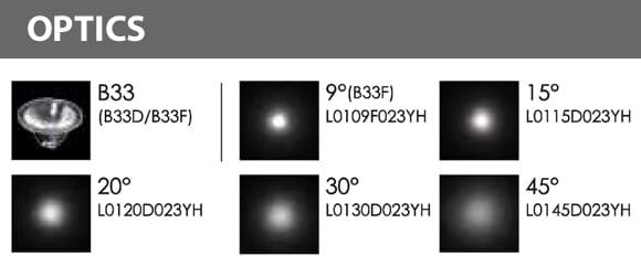 LED Landscape Focus & Spot Light - Optics - B3AB0157