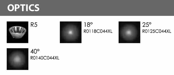 LED Landscape Focus & Spot Light - R3BG0126 - Optics