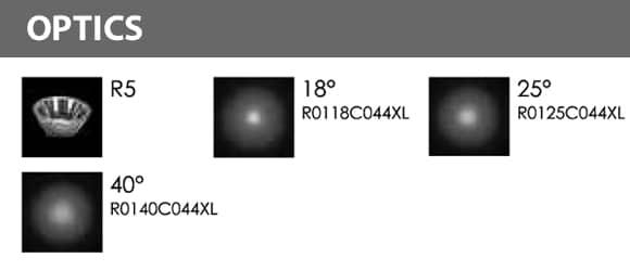 LED Landscape Focus & Spot Light - R3FUB0126 - Optics