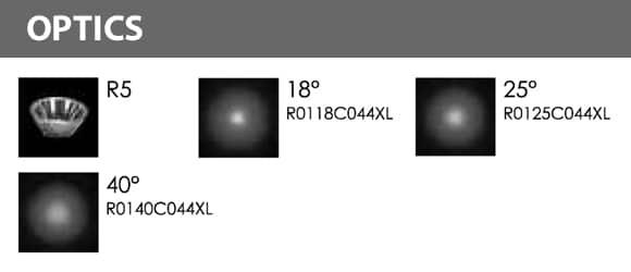 LED Landscape Focus & Spot Light - R3FUM0126 - Optics