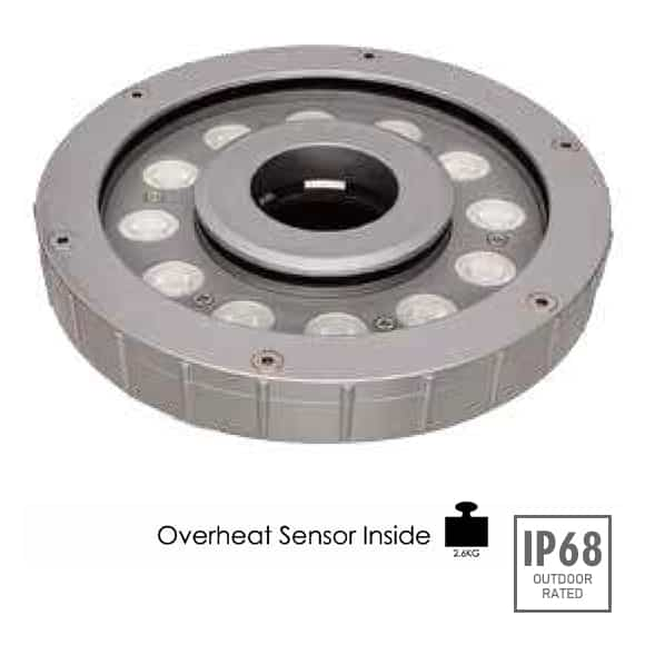 LED Recessed Fountain Light - B4E1256 - Image