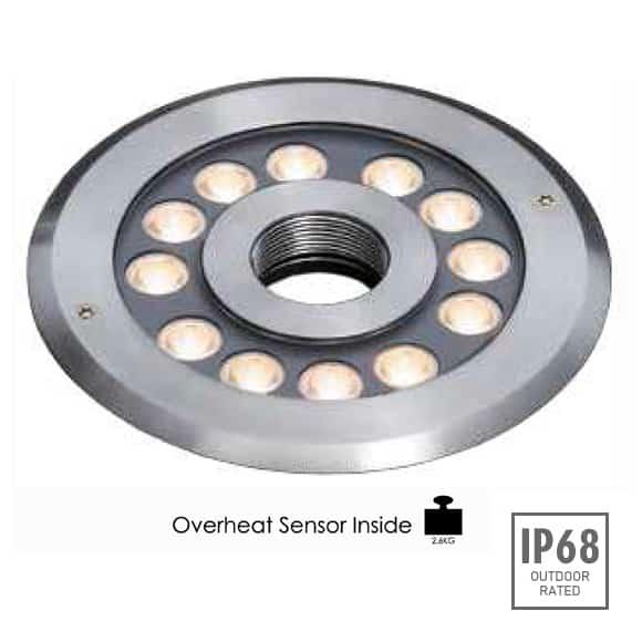 LED Recessed Fountain Light - B4TA1257 - Image