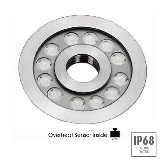 LED Recessed Fountain Light - B4TB1257 - Image