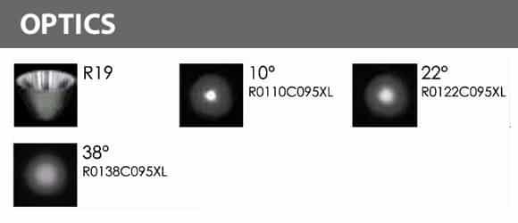 LED Underwater Spot Light - R5ZA0171 - Optics