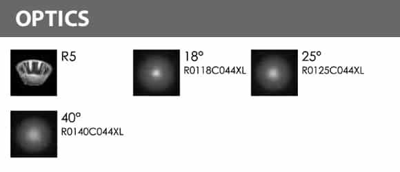 Outdoor LED Inground COB Light - R2HD0126 - Optics