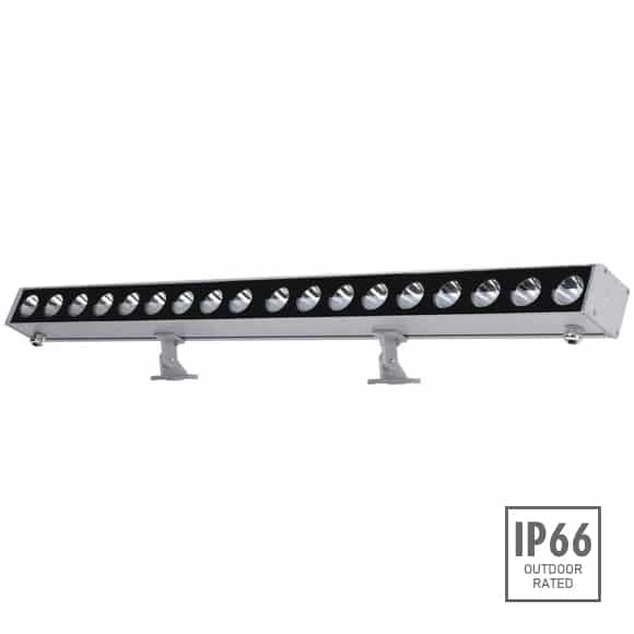 Outdoor LED Linear Facade Wall Washer - JRL7-18R - Image