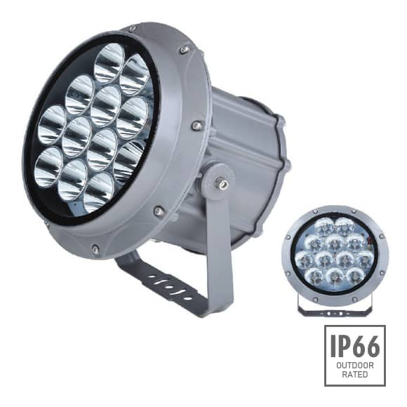 Outdoor LED Projector Lights - JRF3-12R - Image