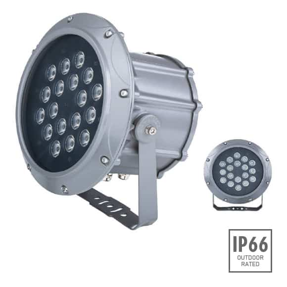 Outdoor LED Projector Lights - JRF3-18 - Image