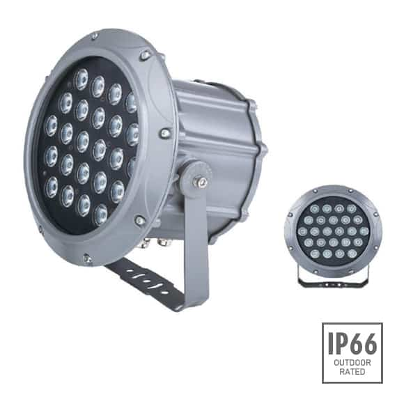Outdoor LED Projector Lights - JRF3-24 - Image