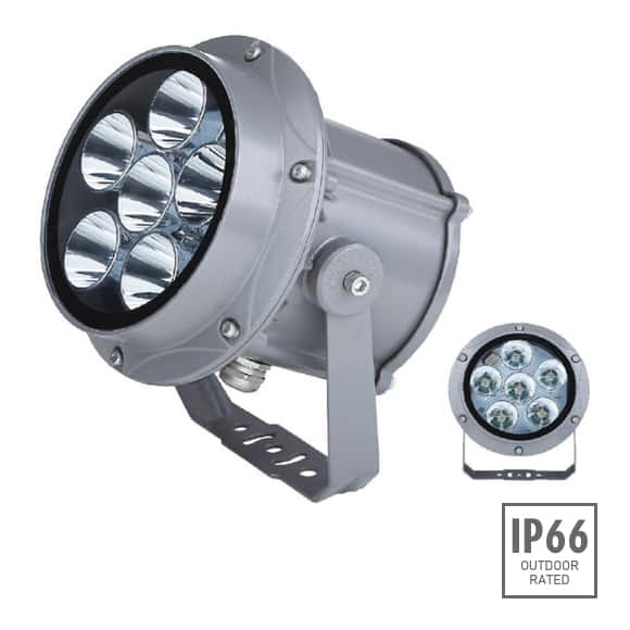 Outdoor LED Projector Lights - JRF3-6R - Image