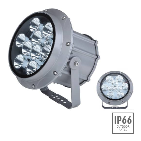 Outdoor LED Projector Lights - JRF3-9R - Image