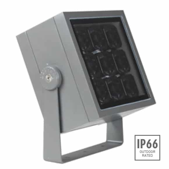 Outdoor LED Projector Lights - JRF4-M-G-Image