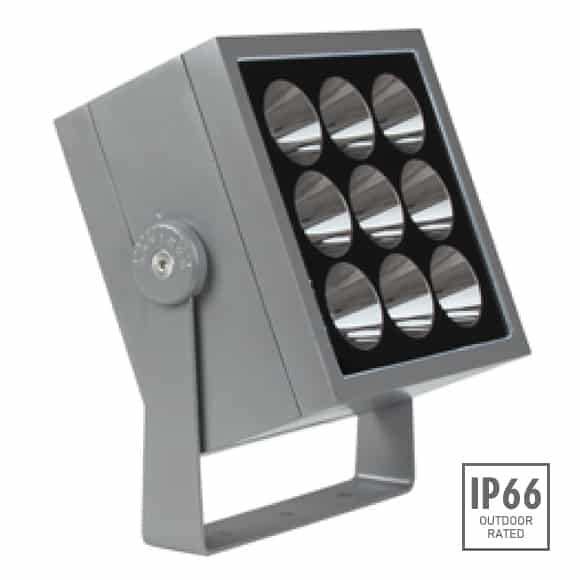 Outdoor LED Projector Lights - JRF4-M-R-Image