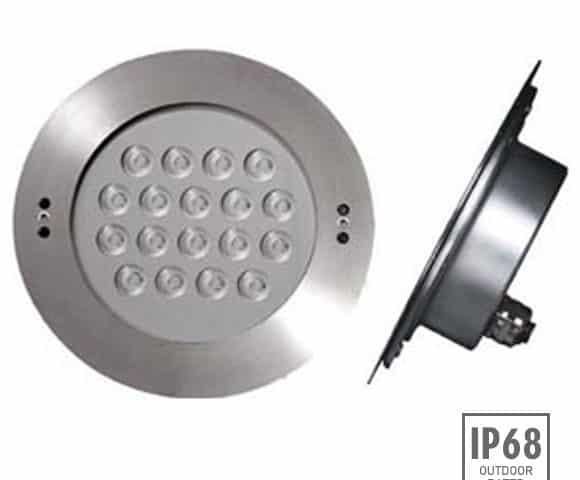 Recessed LED Swimming Pool Light - B4FB1857 -Image