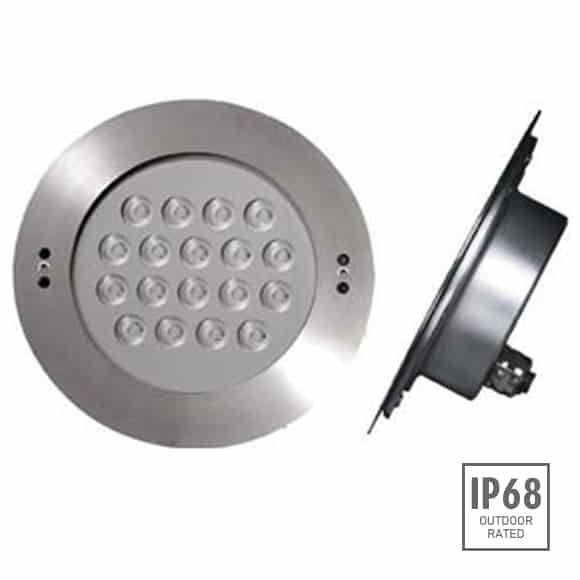 Recessed LED Swimming Pool Light - B4FB1857 -Image