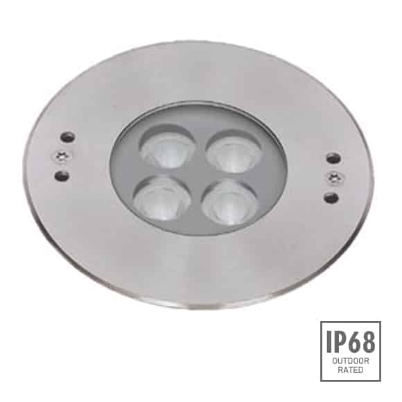 Recessed LED Swimming Pool Light - B4X0457 - Image
