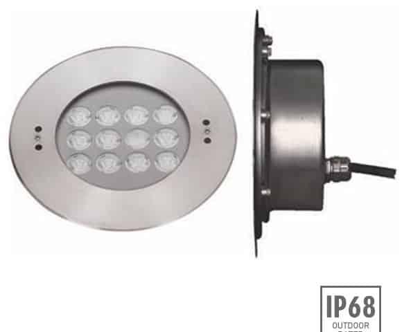 Recessed LED Swimming Pool Light - B4ZB1257 - Image