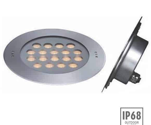 Recessed LED Swimming Pool Light - C4FB1857 - Image