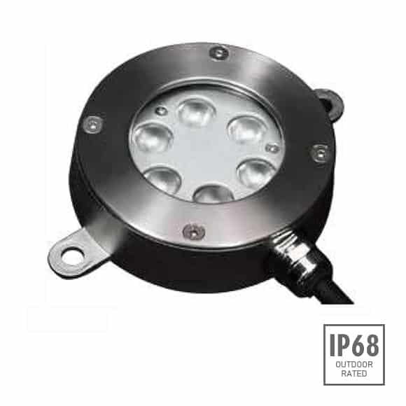LED Recessed Fountain Light - B4B0657 - Image