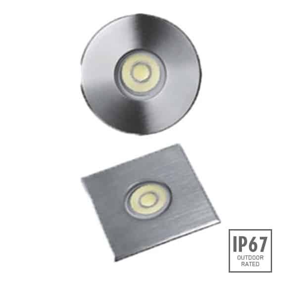 Recessed Wooden Floor Light - B2XAR0154-B2XAS0154 - Image