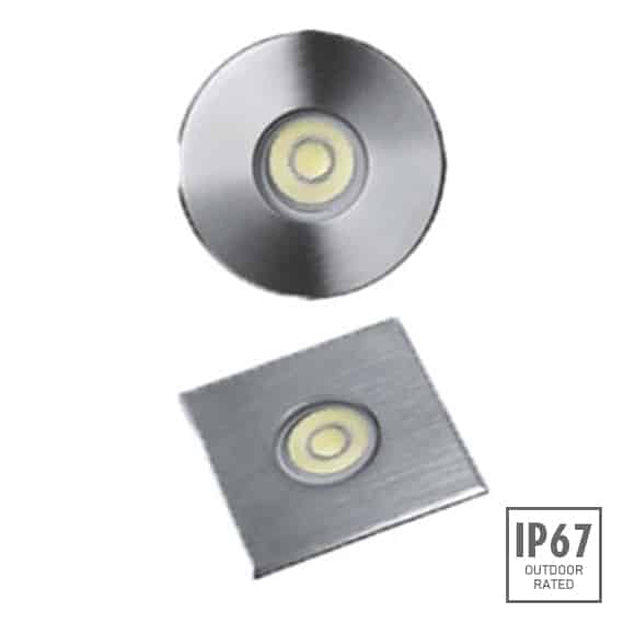 Recessed Wooden Floor Light - B2XAR0157 - B2XAS0157 - Image