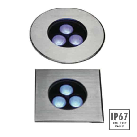 Recessed Wooden Floor Light - FB2XBR0357-FB2XBS0357 - Image