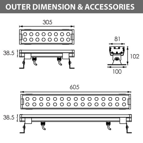 B6P1618-B6P3018 - Diamension