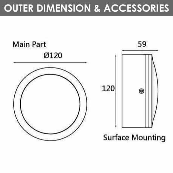 Outdoor Wall Lights - D1AM2832 - Diamension