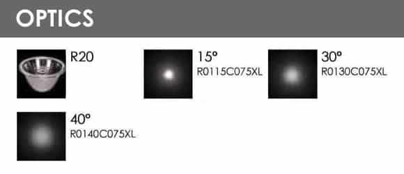Outdoor Wall Lights - R8CI0170 - Optics