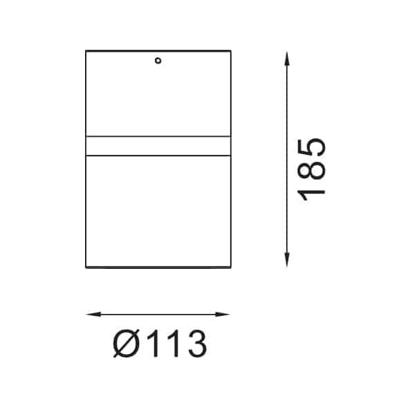 LED Surface Light - FS3019-40 - Dia