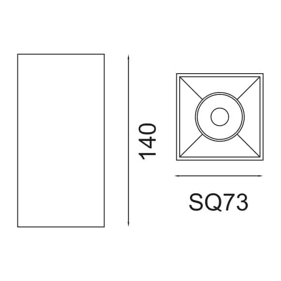 LED Surface Light - FS3029-09 - Dia