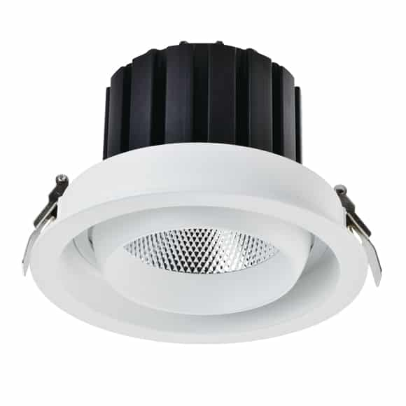 Recessed LED grille lights with high lumens & 30W power. IP40 rating, Dimmable/non-dimmable, AC100-240V driver, multiple CCT available
