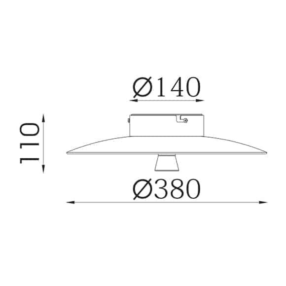 LED Surface Mounted Lights - FS2001Z-11 - Dia