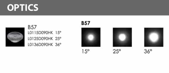 In-ground COB Light - B2KFR0176 Optics