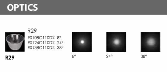 In-ground Light - R2KFR0176 Optics
