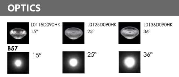 In-ground Light - XB2KFR0173 Optics