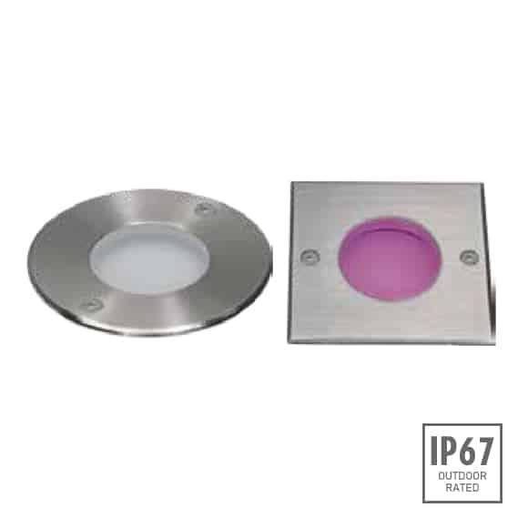Recessed Wooden Floor Light - D2CAR0607 A - D2CAS0607 A - Image