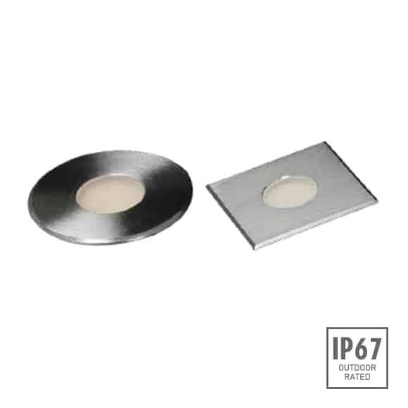 Recessed Wooden Floor Light - D2XAR0641 - D2XAS0641 Image
