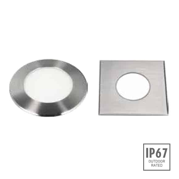 Recessed Wooden Floor Light - D2XBR1241 - D2XBS1241 Image