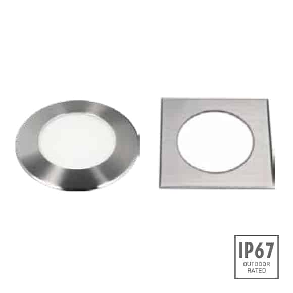 Recessed Wooden Floor Light - D2XCR3641 - D2XCS3641 - Image