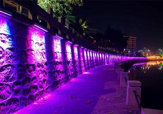 EST Lights - RGBW LED Wall washer application image 14
